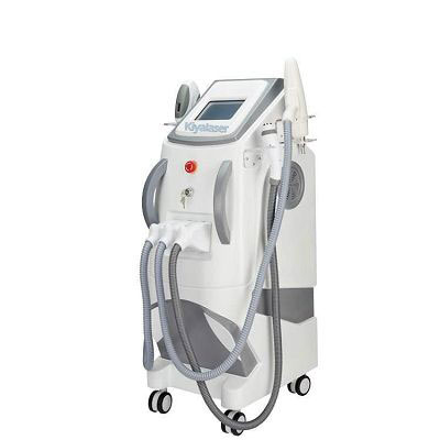 3 in 1 Elight SHR  YAG Laser hair removal machine